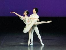 バレエコンサートより 「眠れる森の美女」Act3より グラン・パ・ド・ドゥ
