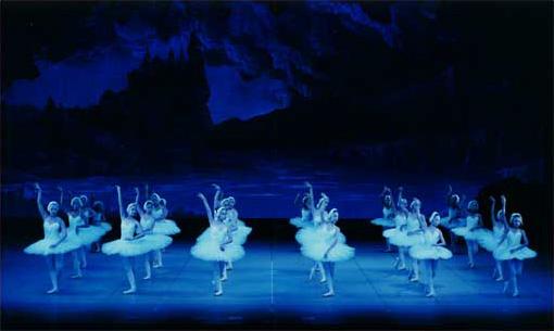 「白鳥の湖」第二幕より